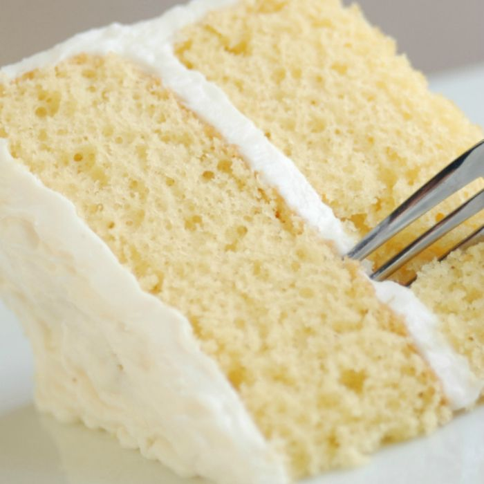 Vanilla Crazy Cake (Double Ingredients & Frost for Layer Cake As Shown)