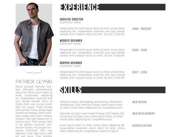 35 best Designed CVs images on Pinterest Resume design, Creative - chief designer resume