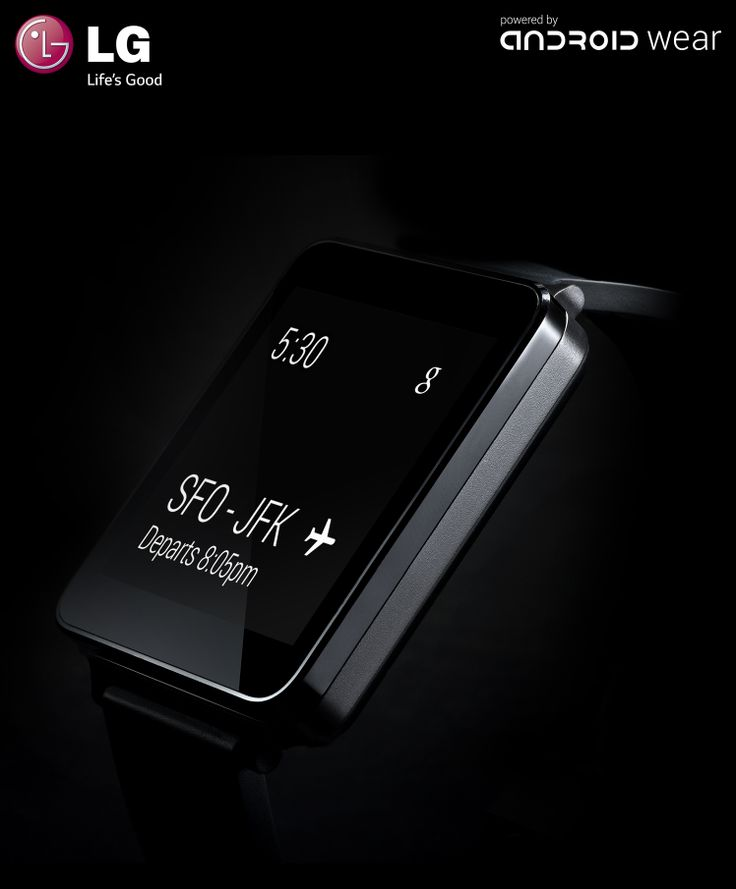 LG annuncia LG G Watch, powered by Android Wear.
