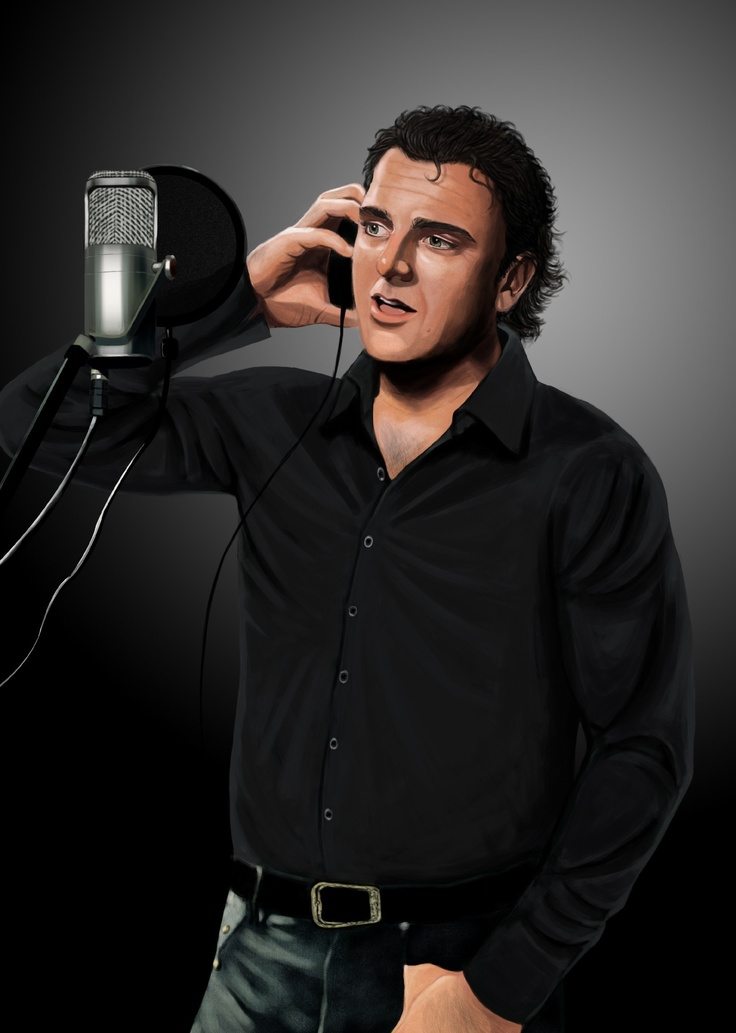 """West Australian crooner Wayne Halifax as illustrated by Perth artist Jessica Robley. Wayne's EP """"My Love"""" contains 3 songs written by Billie Reid. They can be heard ... http://soundcloud.com/billiereidmusic/sets/wayne/"""