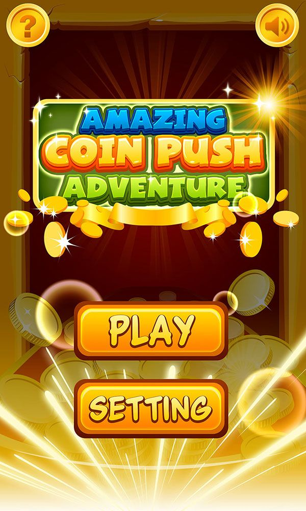 coinpush game on Behance