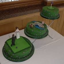 Image result for golf theme wedding cake