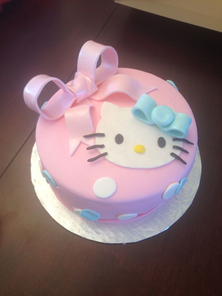 666 Best Images About Hello Kitty Cakes On Pinterest