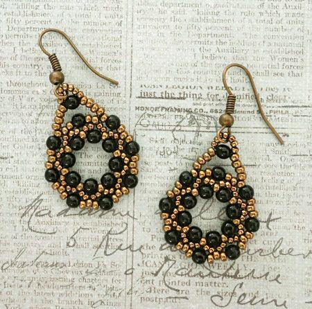 Linda's Crafty Inspirations: Tweaked Jolie Band & Arula Earrings Set