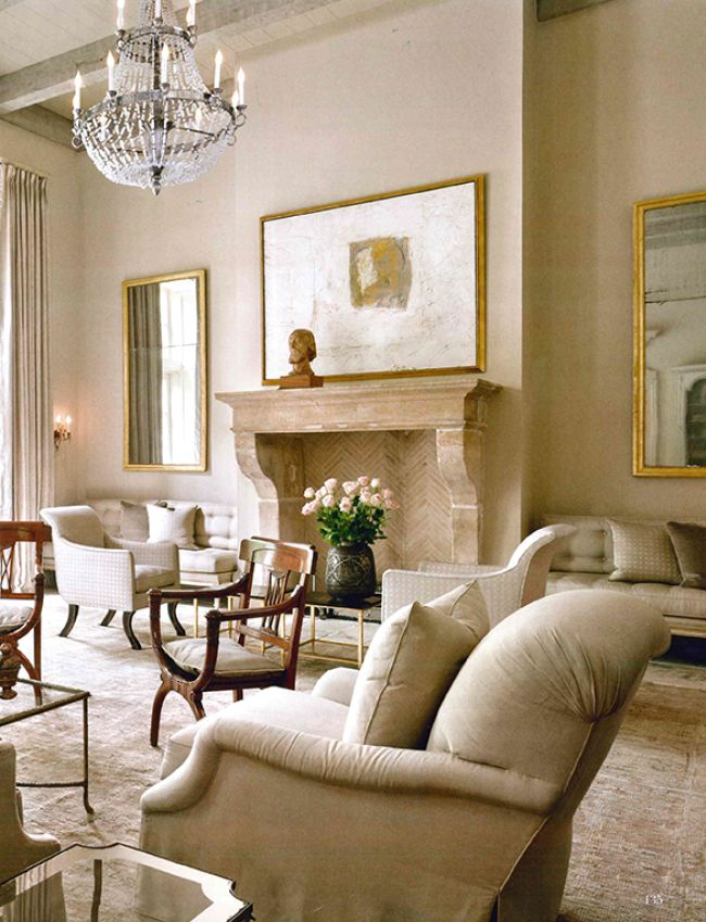 Spotted in Milieu Fall 2014 - Rose Tarlow Melrose House Sabre-Leg Lounge Chairs