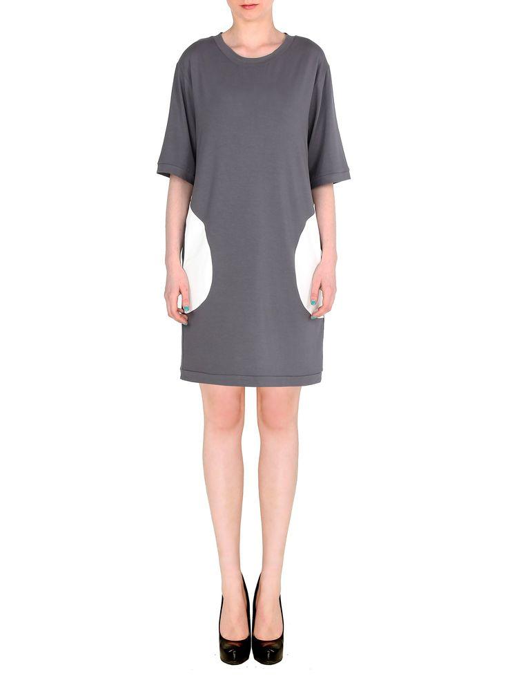 #Yuliya #Babich #Labelsshop #dress #grey