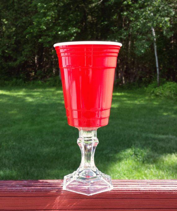 Red Solo Cup Party Glass || Hillbilly Redneck Rednek Wine ...