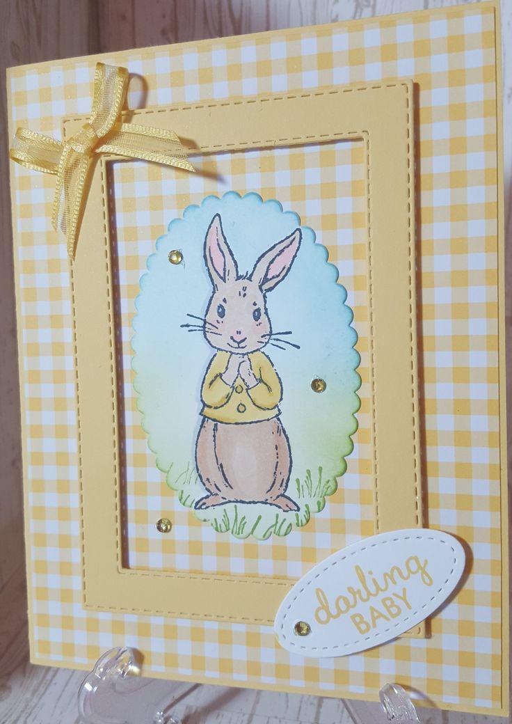 Открытки с пасхальным кроликом своими руками, днем рождения