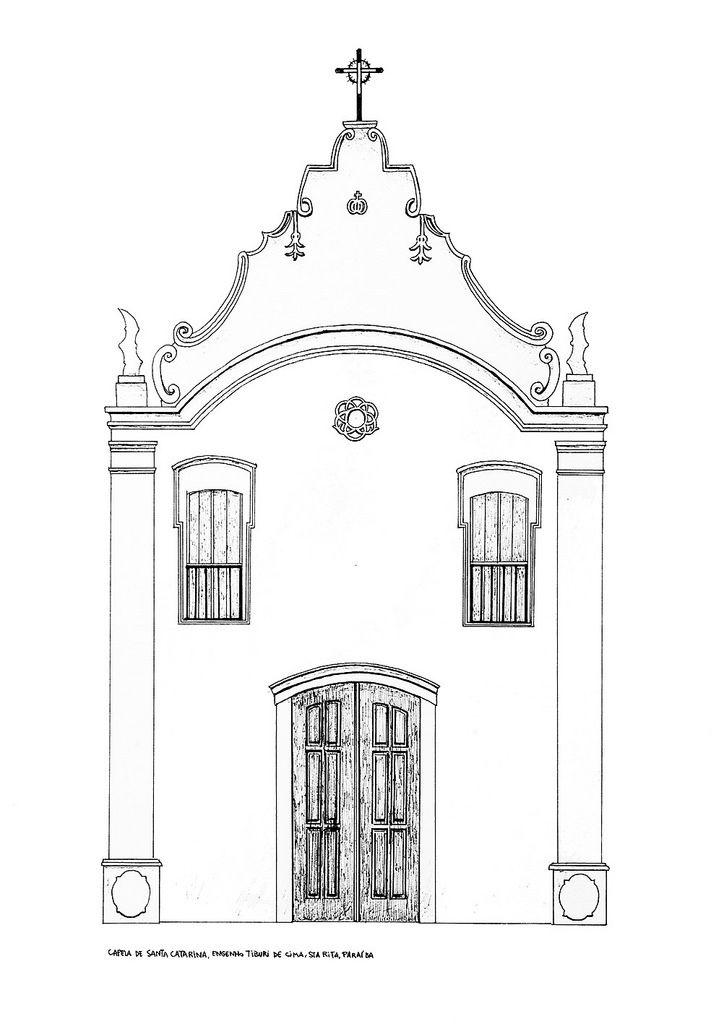 capela de Santa Catarina, Engenho Tiburi de Cima, Santa Rita, Paraíba