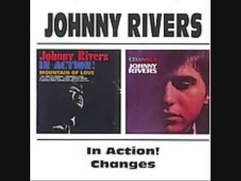 """JOHNNY RIVERS- """" SUMMER RAIN """"  ( W / LYRICS) ~ Mr. Rivers had a string of hits through the 1960's and into the 70's but made the Top 40 with this single in 1967."""