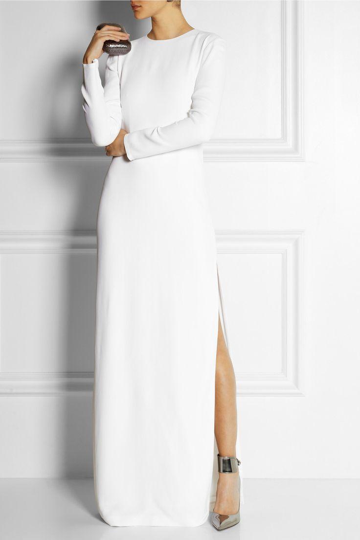 Adam Lippes|Crepe column gown|NET-A-PORTER.COM