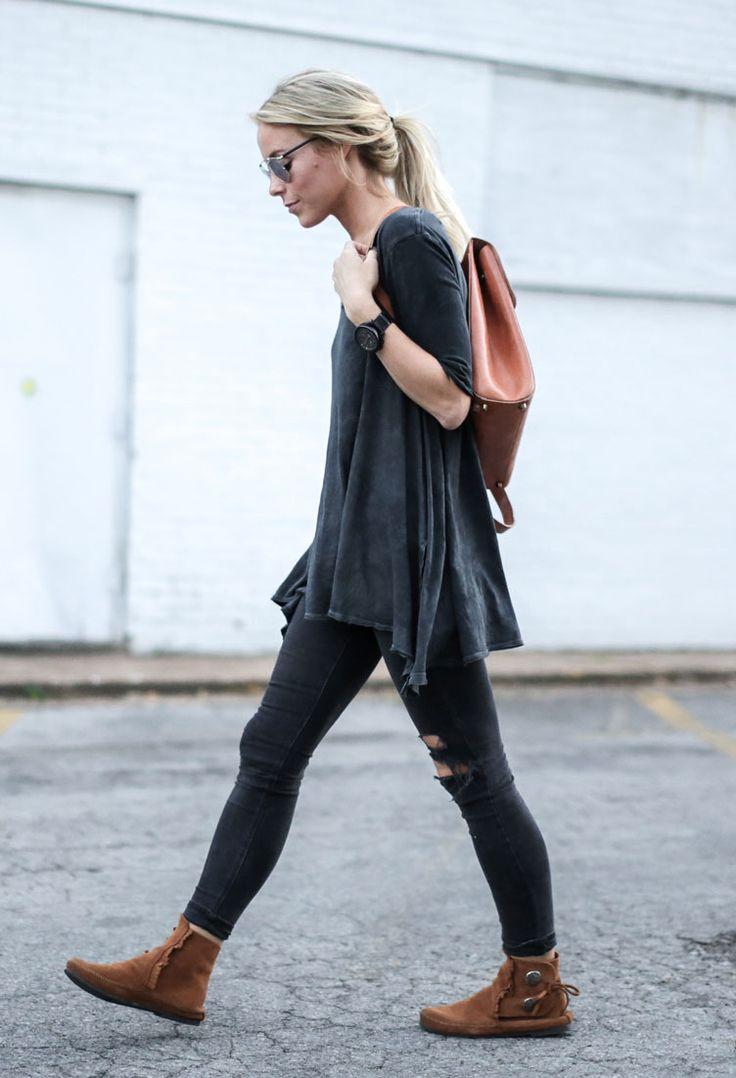 nice 50 Идей, с чем носить рыжие сапоги без каблука — Модные образы на каждый день