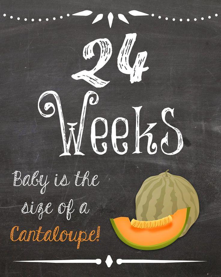 Katie's Korner: Weekly Pregnancy Chalkboard Photo Printables