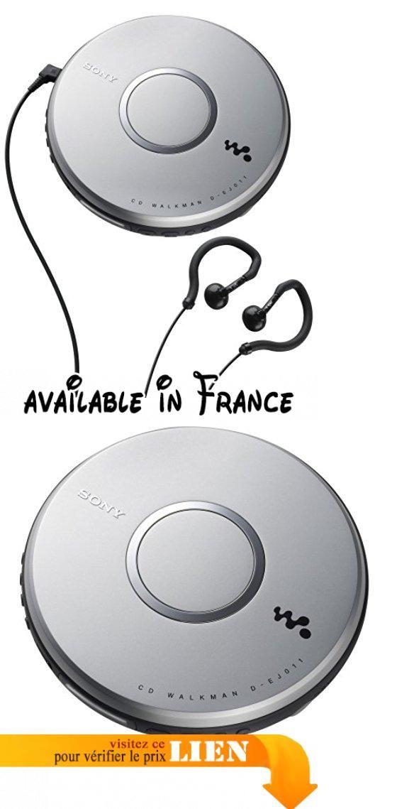 Sony D-EJ011 Portable CD player Gris Lecteur de CD - Lecteurs de CD (LCD, 16 h, 196 g, Gris, 140 x 140 x 28 mm). Sony D-EJ011. Écran: LCD. Autonomie maximum de la batterie: 16 h. Poids: 196 g. Couleur du produit: Gris. Dimensions (LxPxH): 140 x 140 x 28 mm #Home Theater #PORTABLE_AUDIO