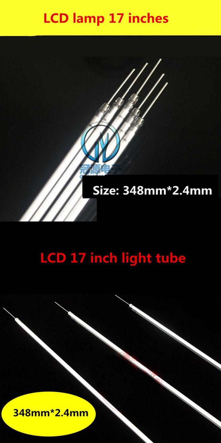 [Visit to Buy] LCD liquid crystal display 17 inch ordinary screen lamp new long needle display lamp length 348mm * 2.4mm #Advertisement