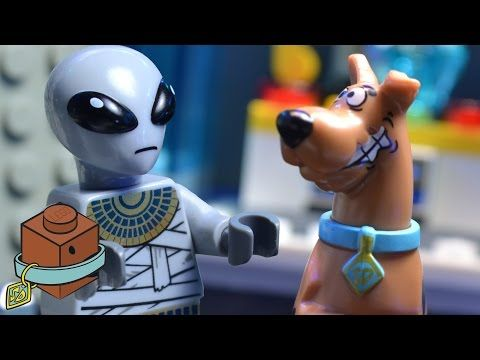 LEGO Scooby-Doo in 'Ancient Astronaut Attack!' - YouTube