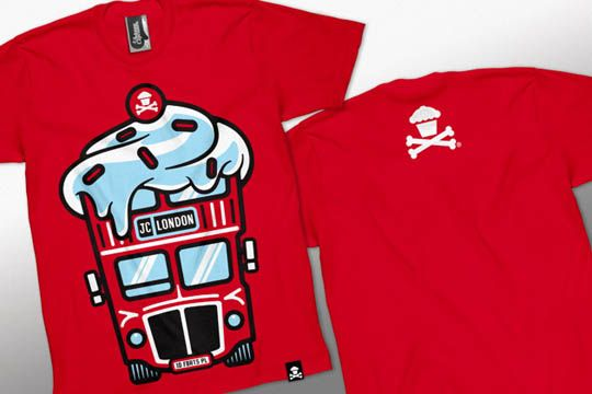 Johnny Cupcakes London Bus Shirt