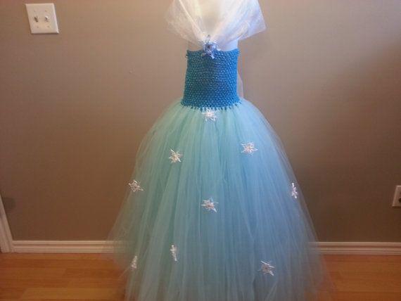 Frozen tutu dress by TutusbyIzabella on Etsy, $65.00