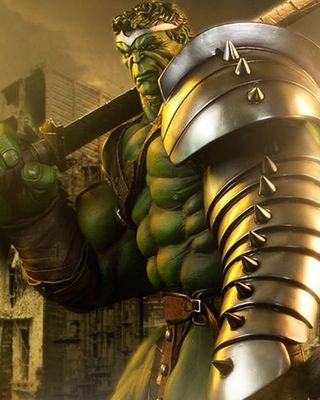 Sideshow Collectibles has revealed the second piece in their World War Hulk series. It's the King Hulk Premium Format Figure. This thing looks so awesome! I also went ahead and included their Gladiator Hulk figure as well, since it's part of the same series. Here's a description that was pro