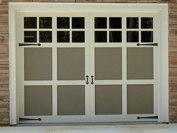 garage doors | Decorative Garage Door Hardware Uses - traditional - garage doors ...