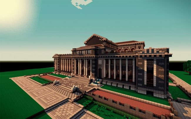 The New York Public Library...built in Minecraft