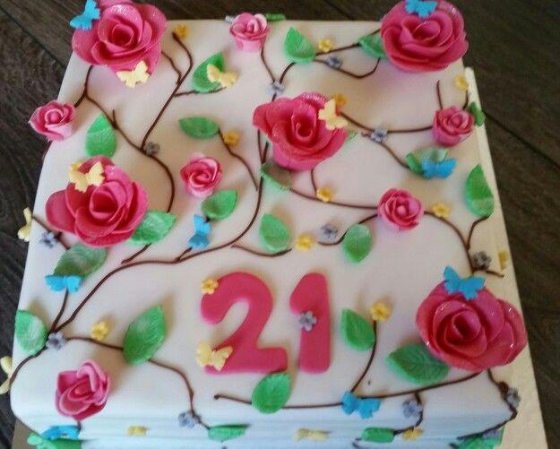 Fabulous 107 beste afbeeldingen van zelfgemaakte taarten - Busjes, Fondant  RT95