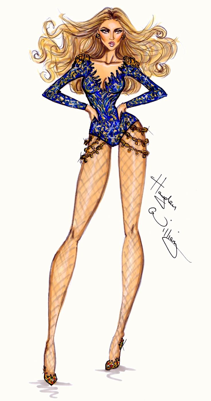 CELEBRITIES ☆ Beyoncé Mrs. Carter World Tour Collection, Part 3 - Illustration by Hayden Williams