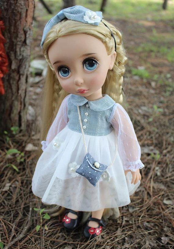 Disney Animator 16 doll clothes fit BJD MSD 1/4 by darlingja