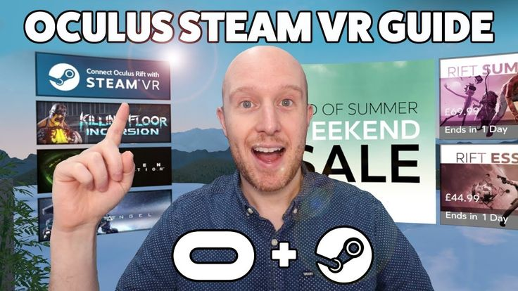 An easy guide to setup Steam VR and link it to Oculus Home...
