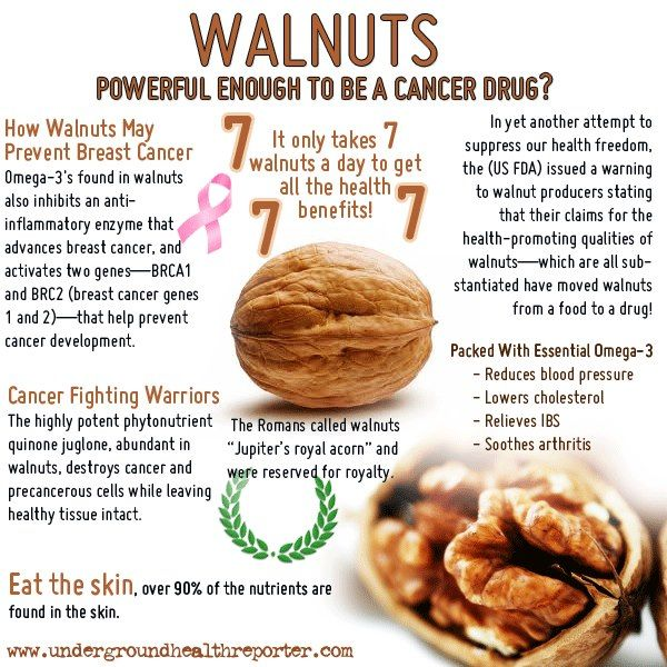 """""""Walnuts – Health Benefits"""" [infographic] -- read more walnut facts and statistics here: http://undergroundhealthreporter.com/walnuts-health-benefits"""