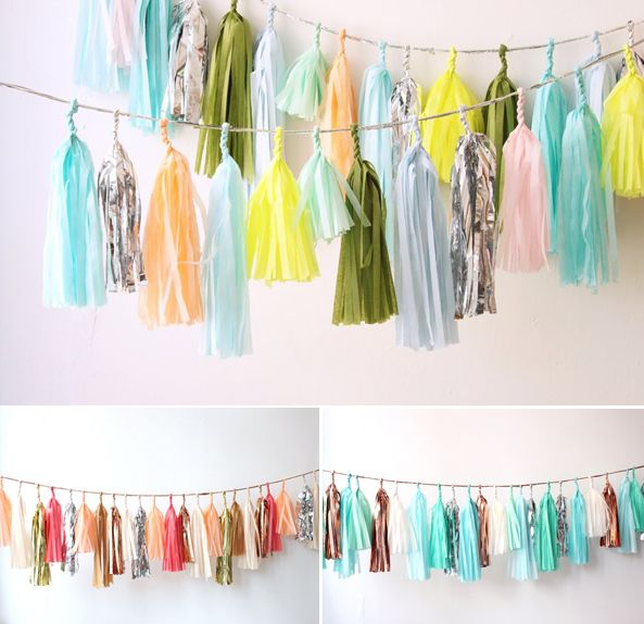 Bruiloft decoratie: papieren versiering! - Do It Yourself | ThePerfectWedding.nl