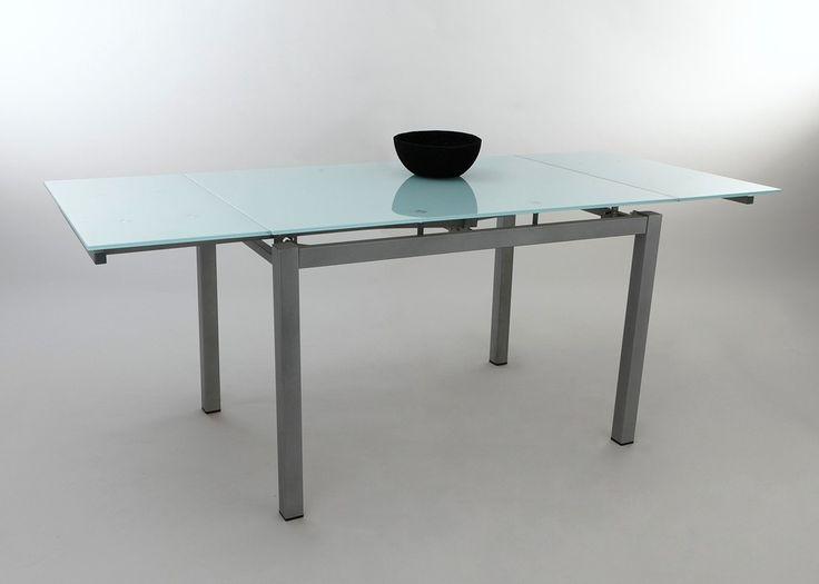 The 25 best glastisch ausziehbar ideas on pinterest for Esstisch 120x70 ausziehbar