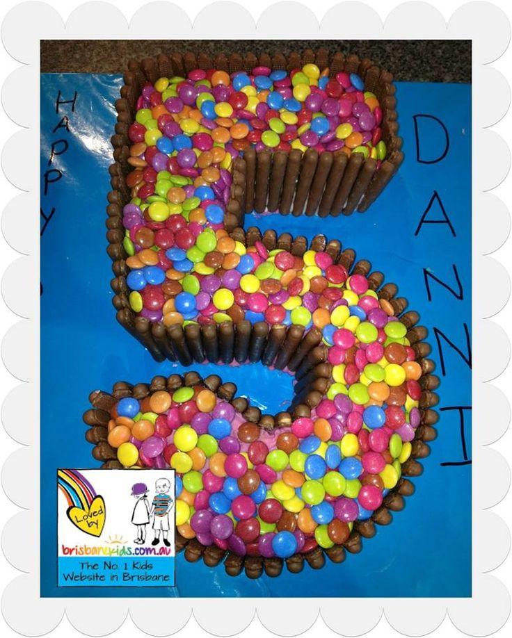 Easy peasy smarty cake