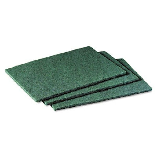 Scotch-Brite 96 Aqua Green Pad - 10cm X 15cm (60 pads / case) - Sabut Cuci Piring & Alat Masak Dapur Terbaik dg Harga Murah.  This scouring pad is ideal for the daily cleaning of most kitchen utensils and equipment. It is highly durable and long lasting thanks to the abrasive particles spread throughout the pad, and also has the benefit of being non-rusting. http://tigaem.com/food-service-solution/1306-scotch-brite-96-aqua-green-pad-10cm-x-15cm-60-pads-case.html  #scotchbrite…