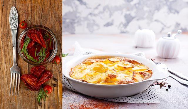 Denna fantastiskt goda och lite lyxiga variant av Janssons frestelse är fylld med italienska smaker. Dessutom är den vegetarisk!