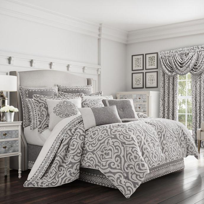 J. Queen New York™ Pierce Comforter Set | Bed Bath & Beyond