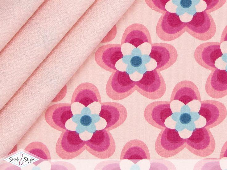 Einen neuen Rock gefällig? - Dann habe ich hier ein wunderschönes Stöffchen für Euch! Ein toller neuer French Terry mit zauberhaftem Blumen-Motiv. Diese zarten Lotusblüten in 3 angesagten Farben laden einfach zum träumen ein und machen...