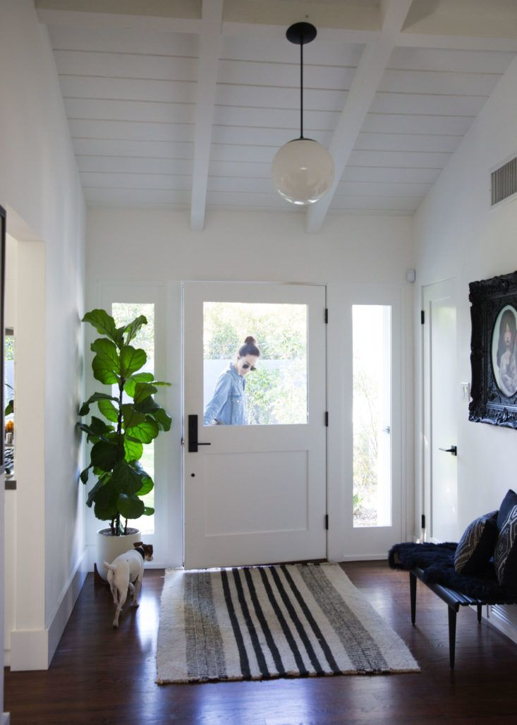 Panic at the Disco LA House Entryway, Photo by Victoria Wall Harris