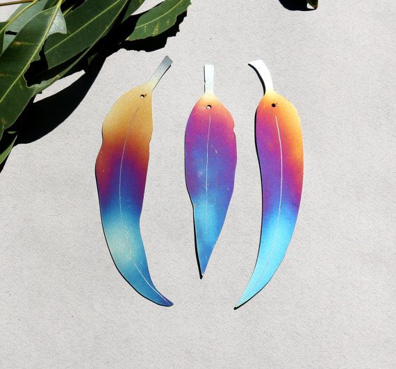 Stainless steel rainbow coloured decorative by GalaxiaMetal
