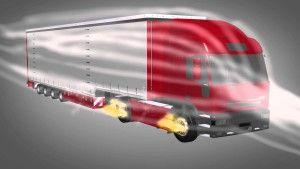 Bessere Aerodynamik für Lkw ab 2017