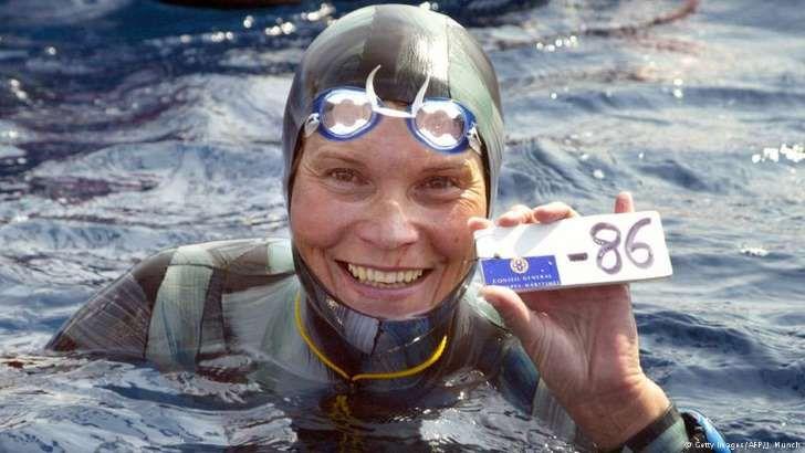 Lenda do mergulho em apneia desaparece no Mediterrâneo