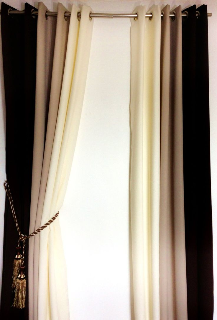 1000 Ideas About Brown Eyelet Curtains On Pinterest Curtain Ideas Diy Curtains And Living