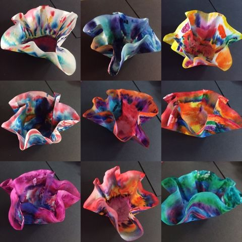 Inquiring Minds: Mrs. Myers' Kindergarten: From Trash To Chihuly: Building 21st Century Skills Through Art In The Classroom