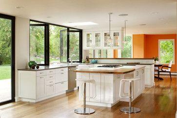Boulder indoor/outdoor living remodel - traditional - kitchen - denver - Melton Design Build