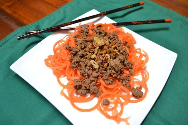 Bolognaise with an Asian Twist