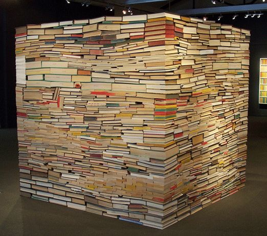 book cube by Adam Bateman
