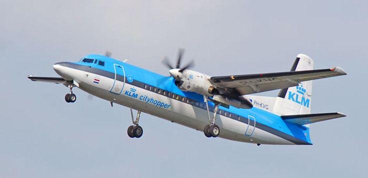PH-KVG KLM Fokker 50 plane. http://www.airpowercarriers.org/klm/ph-kvg-klm-fokker-50.htm