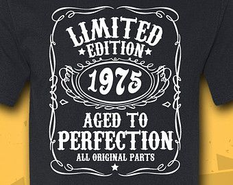 40th Birthday Gift - Turning 40 - 40 Years Old - Limited Edition 1975 Shirt - Tee - T-Shirt - Gift for Him - Funny
