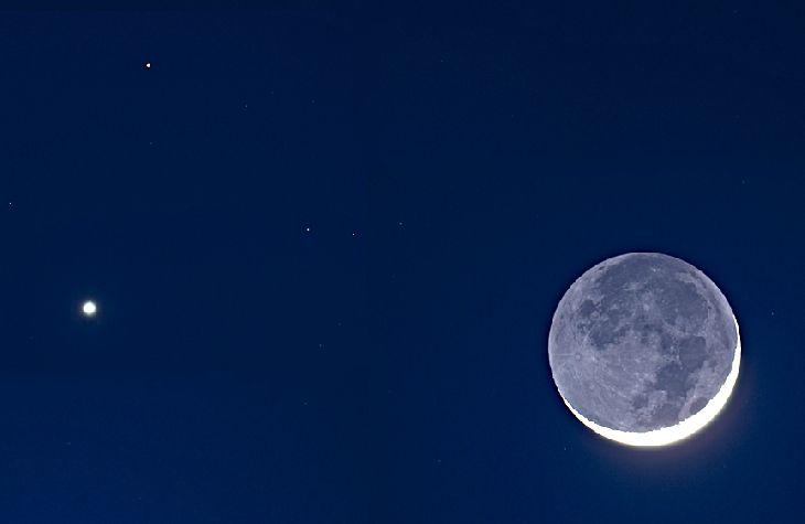 mars venus moon conjunction photos - photo #19