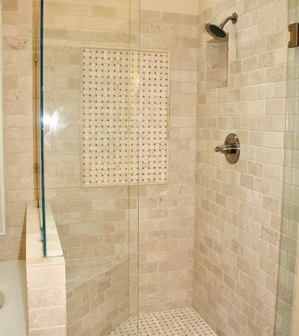 Best 25 subway tile bathrooms ideas only on pinterest - Best paint color for crema marfil bathroom ...